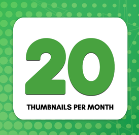 20 Thumbnails Subscription