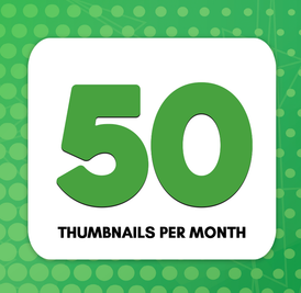 50 Thumbnails Subscription