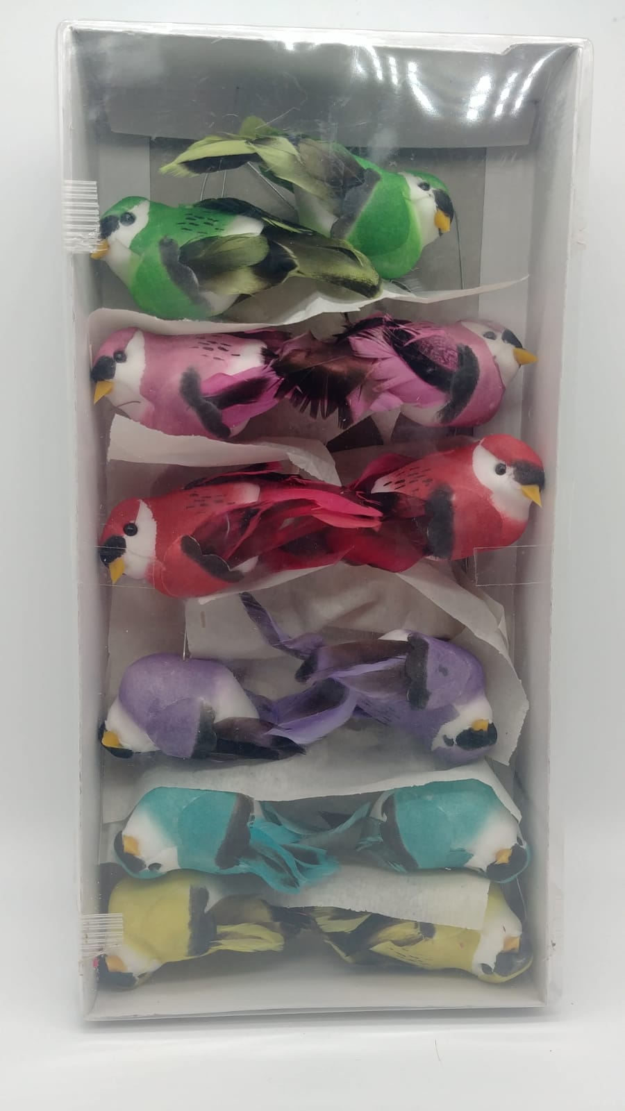 Assorted Colored Birds- 3.5