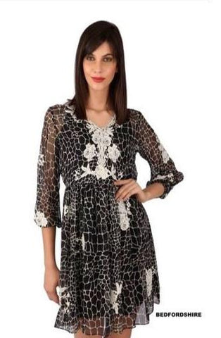 Bedfordshire French lace dress
