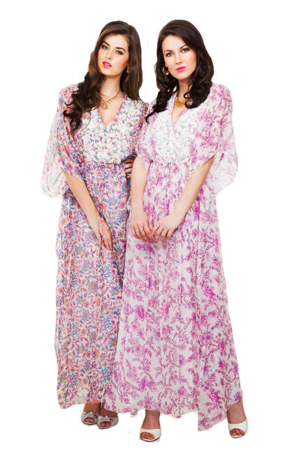 Leaves of Grass, New York Parure Kaftan-right