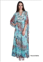 Load image into Gallery viewer,  silk chiffon kaftan