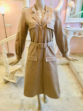 Load image into Gallery viewer, trench dress in beige