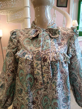 Load image into Gallery viewer, Leaves of Grass, New York Liberty print Brickworth Blouse