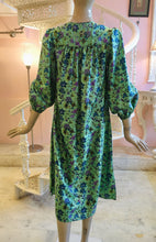 Load image into Gallery viewer, Leaves of Grass, New York Pembroke printed silk dress