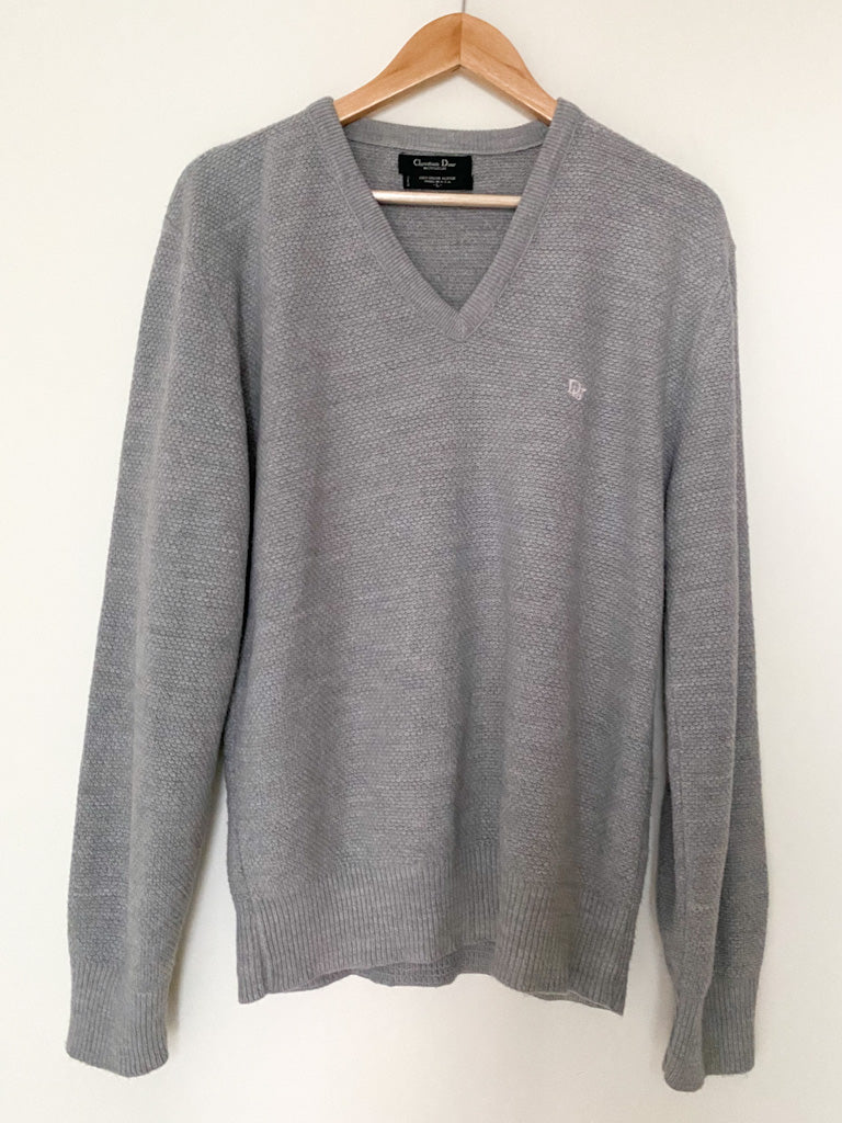 Vintage Grey CHRISTIAN DIOR Sweater