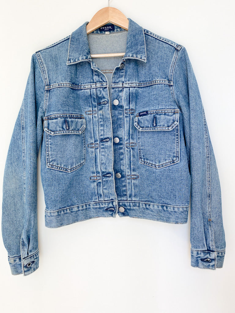 Vintage 90s GUESS Denim Jacket