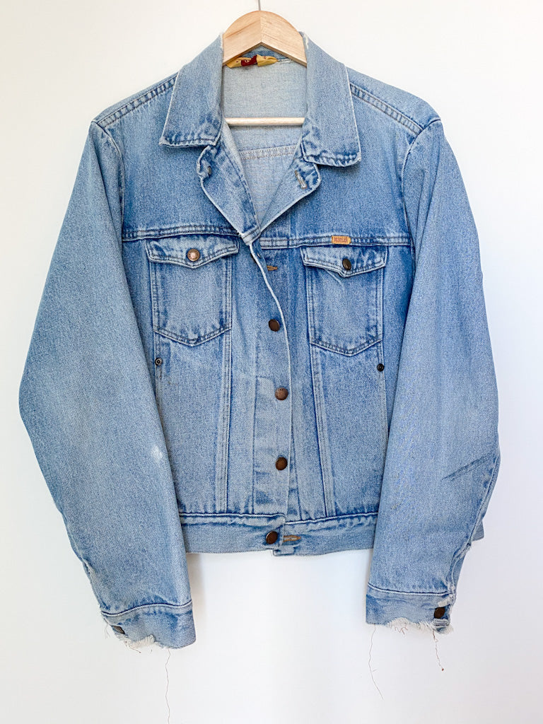 Vintage 90s RUSTLER Denim Jacket