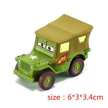 Load image into Gallery viewer, Disney Pixar Cars 2 3 model Lightning McQueen Mater Jackson Storm Ramirez 1:55 Diecast Vehicle Metal Alloy Boy Kid Toys Gift