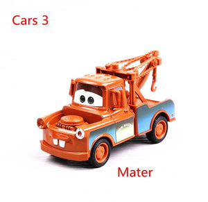 Disney Pixar Cars 2 3 model Lightning McQueen Mater Jackson Storm Ramirez 1:55 Diecast Vehicle Metal Alloy Boy Kid Toys Gift