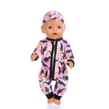 Load image into Gallery viewer, New Jumpsuits Fit For 43cm Baby Doll 17inch Born Doll Clothes