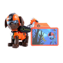 Load image into Gallery viewer, Paw Patrol Everest Tracker Dog Skateboard Puppies Snow Can Be Deformed Patrol Patrulla Canina PVC Action Figure Model Toys