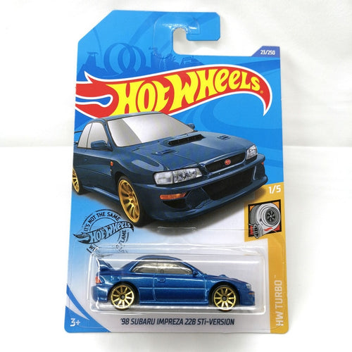 2020 Hot Wheels 1:64 Car NO.1-26 98 SUBARU IMPREZA 22B STi-VERSION NISSAN SKYLINE GT-R  Metal Diecast Model Car Kids Toys Gift