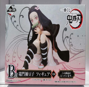 Agatsuma Zenitsu Kamado Nezuko Tanjirou Demon Slayer Kimetsu no Yaiba Anime PVC Action Figures toys Anime figure Toys For gifts