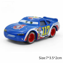 Load image into Gallery viewer, Cars disney Pixar Car 2 3 Lightning McQueen Jackson Storm Sally Guido Mater 1:55 Diecast Metal Alloy Model Cars Kid Gift