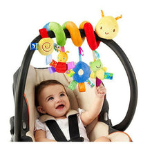 Load image into Gallery viewer, Soft Infant Crib Bed Stroller Toy Spiral Baby Toy For Newborns Car Seat Educational Rattles Baby Towel baby Toys 0-12 months