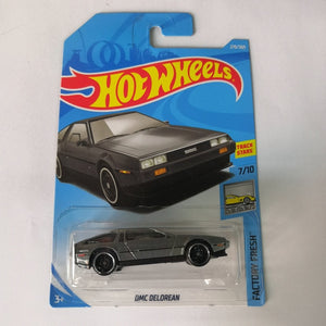 2019 Hot Wheels 1:64 Car BACK TO THE FUTURE TIME MACHINE HOVER MODE Collector Edition Metal Diecast Cars Kids Toys Gift