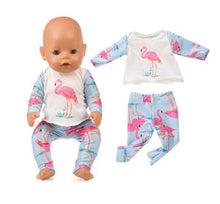 Load image into Gallery viewer, Fashion Frog  Surit Wear For 43cm Zapf Baby Doll 17 Inch Born Babies Dolls Clothes And Accessories