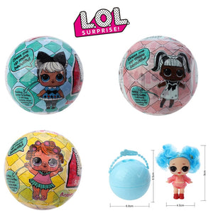 Original LOL surprise Dolls Hair Original lol dolls wig Accessories action toys random style with box