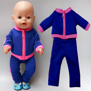 43cm New Born Baby Doll Clothes Summer Clothing 18 Inch American OG Girl Doll Jacket Coat