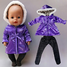 Load image into Gallery viewer, 43cm New Born Baby Doll Clothes Summer Clothing 18 Inch American OG Girl Doll Jacket Coat