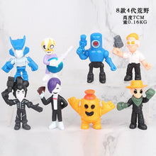 Load image into Gallery viewer, 18pcs/lot Brawl game cartoon star hero figure model Spike Shelly Leon PRIMO MORTIS doll kawaii cute toy gift for boy girl kids