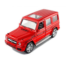 Load image into Gallery viewer, 1:32 Alloy Pull Back Model Car Model Toy Sound Light Pull Back Toy Car For G65 SUV AMG Toys For Boys Children Gift