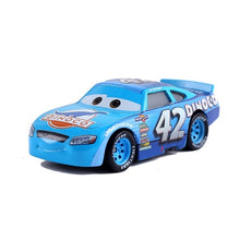 Load image into Gallery viewer, NewDisney Pixar sedan 3 toy car McQueen Jackson storm 1:55 die-cast metal alloy model toy car 2 boys birthday Christmas gift
