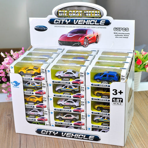 2018 1:64 new children's toys new alloy toy car alloy engineering vehicle (randomly sent) 1pcs One car