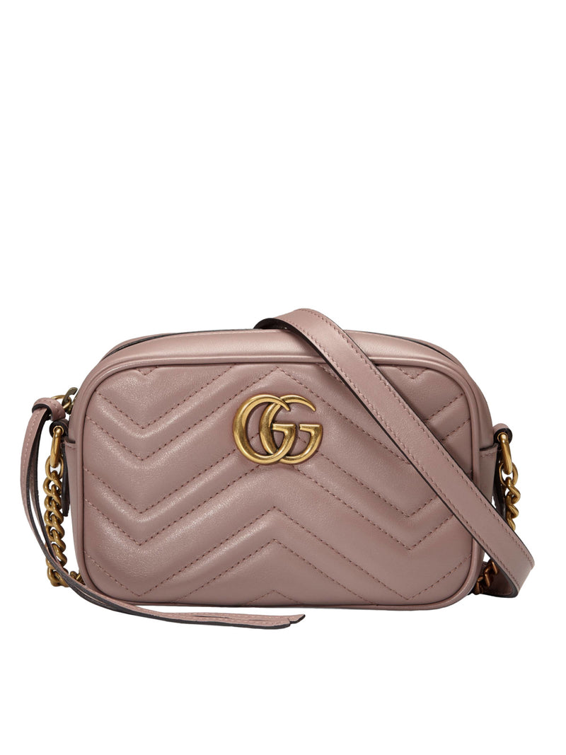 CAMERA BAG MINI GG MARMONT MATELASSE`