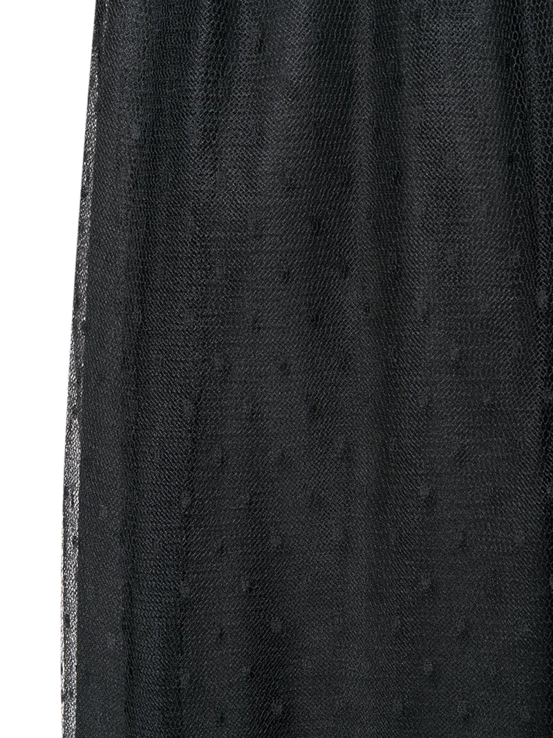 point d`esprit midi skirt