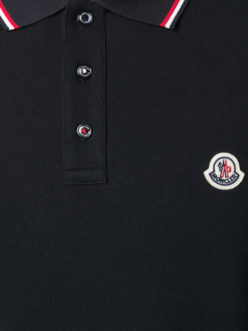 POLO SHIRT WITH STRIPED DETAILS