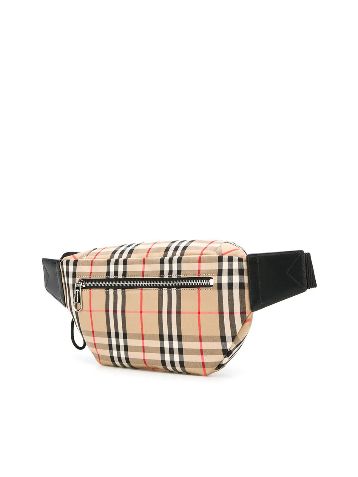 VINTAGE CHECK MOTIF BELT BAG