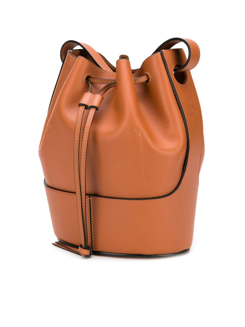 Balloon bucket bag