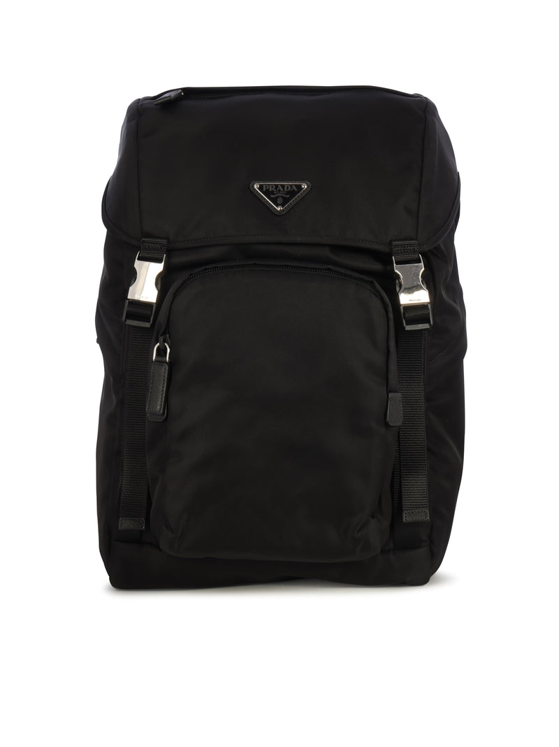 logo plaque backpack