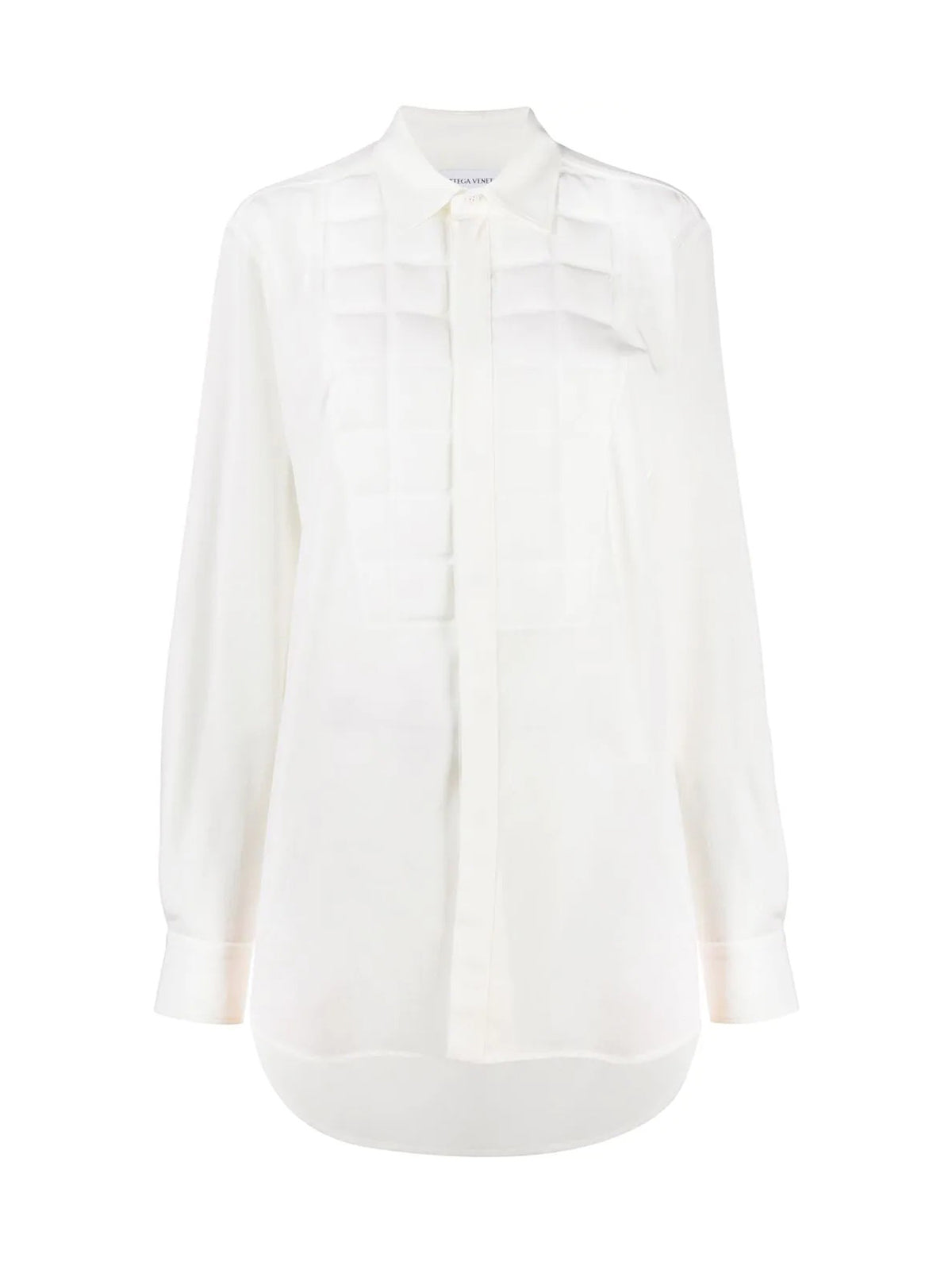 Shirt with padded detail