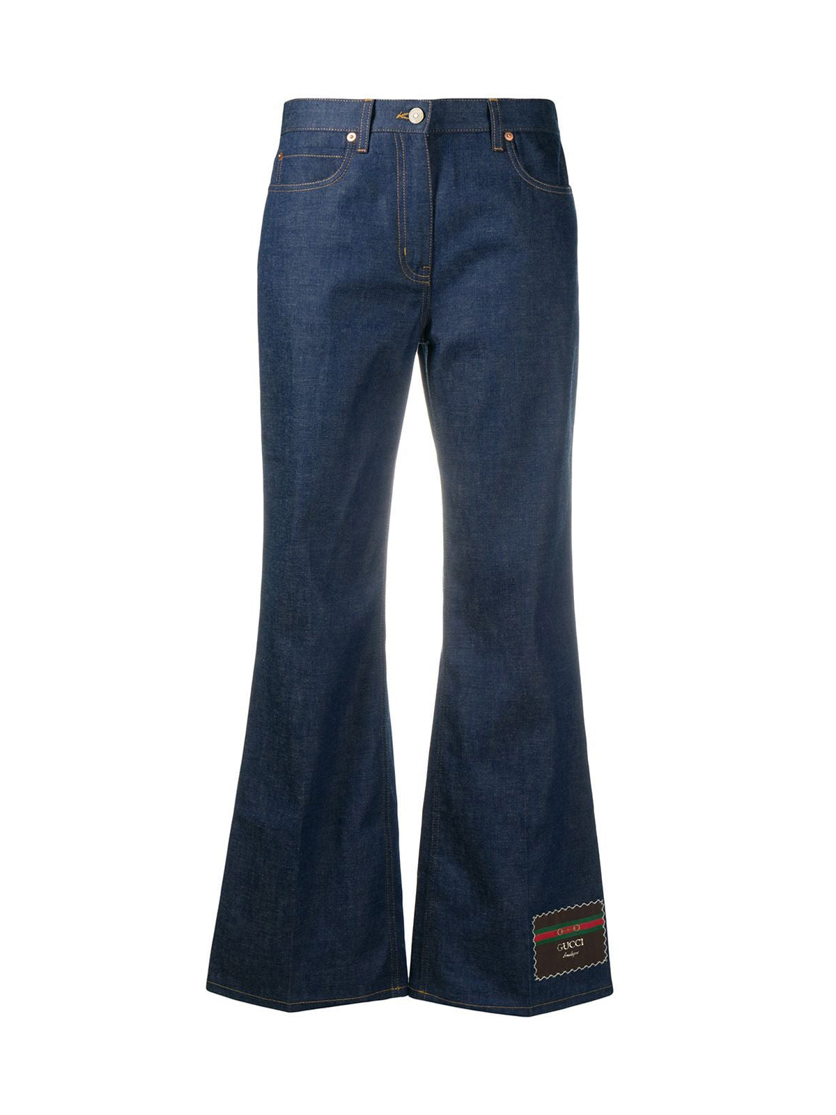 Denim trousers with Gucci Boutique