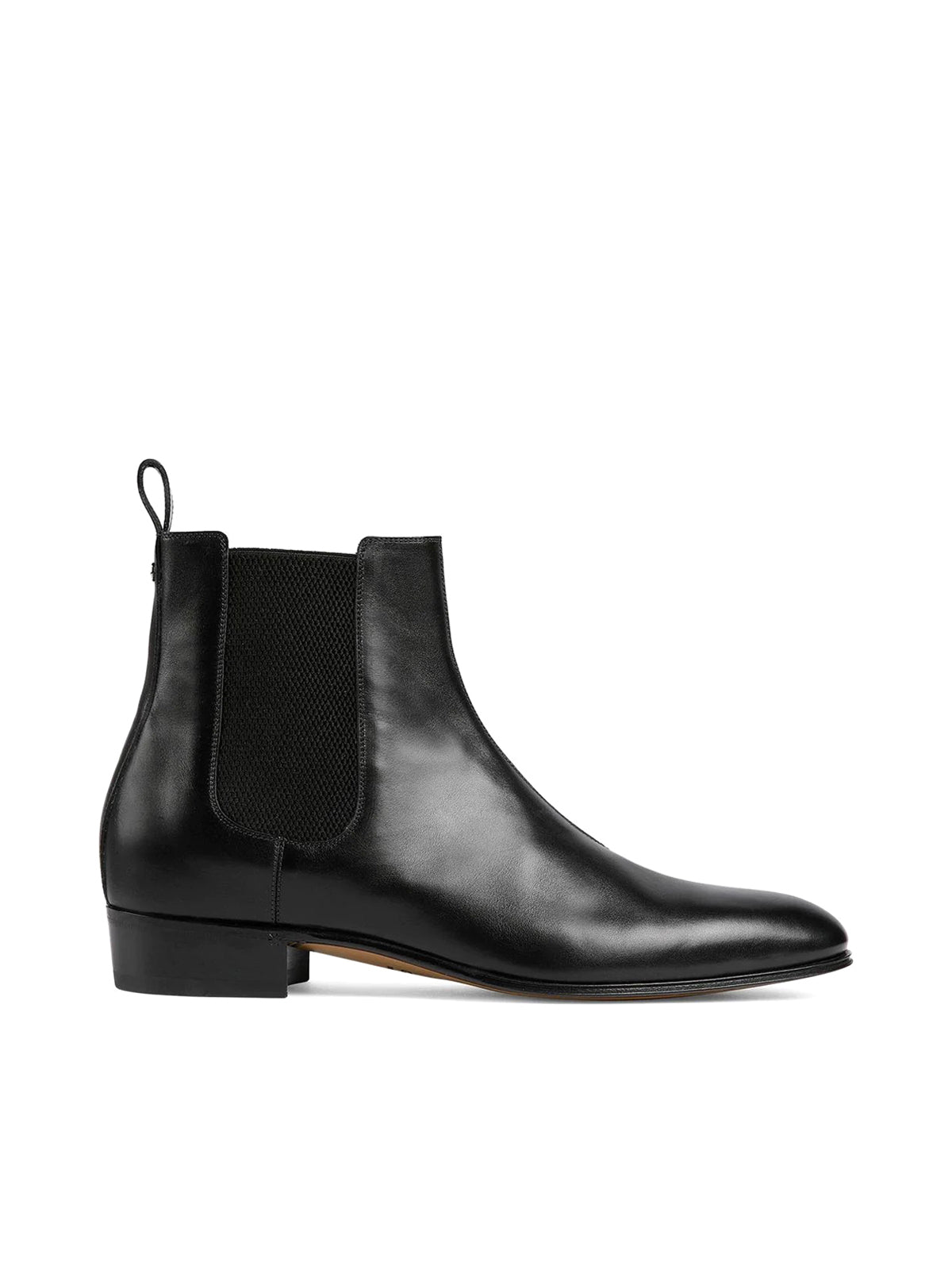 leather ankle boots