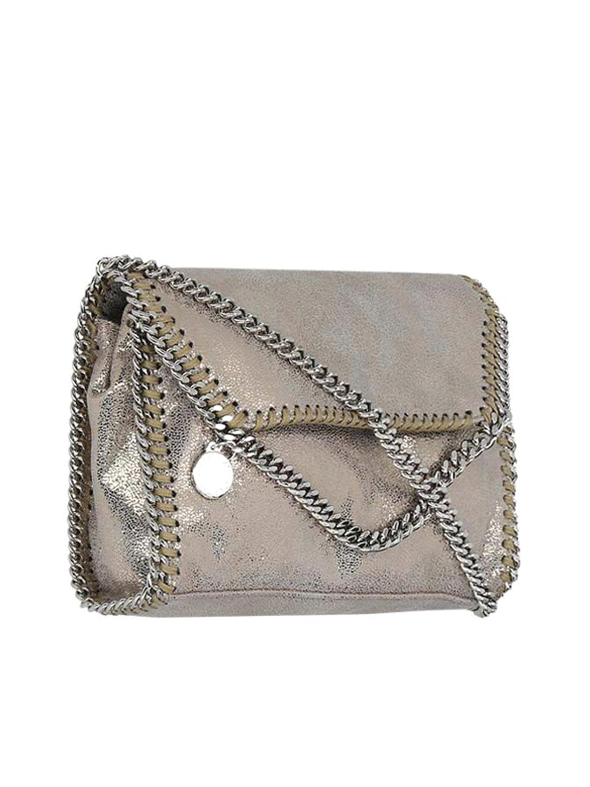 small Falabella metallic crossbody bag