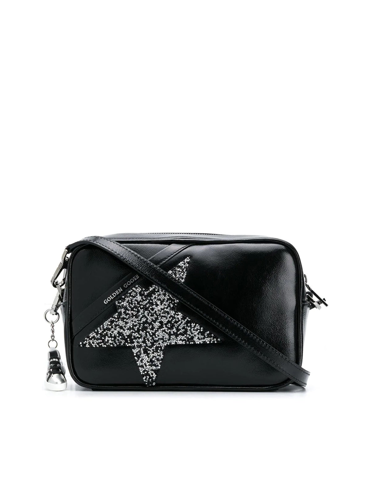 Shoulder bag with glitters