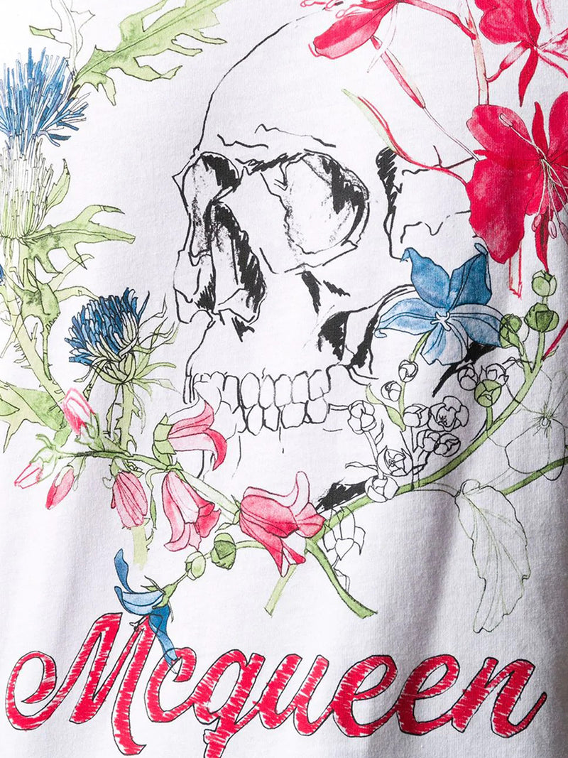 McQueen Skull slim-fit T-shirt