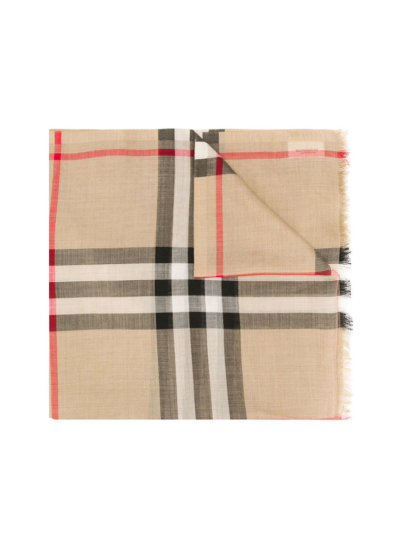 giant Vintage check scarf