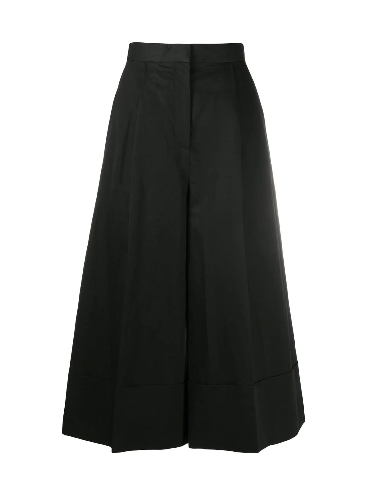 cropped culotte trousers