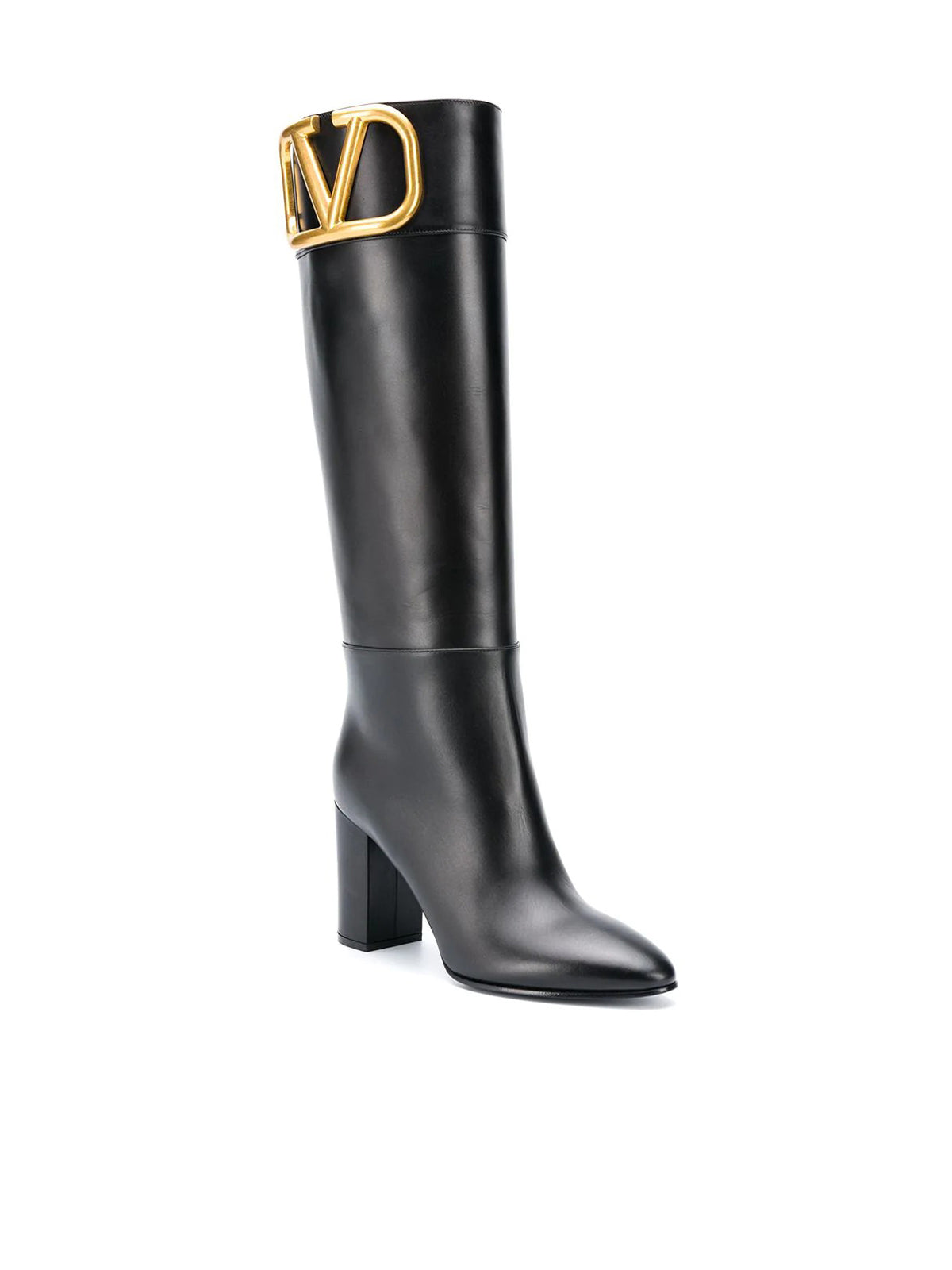 Supervee knee-length boots