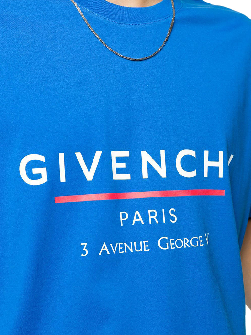 Givenchy Label print T-shirt
