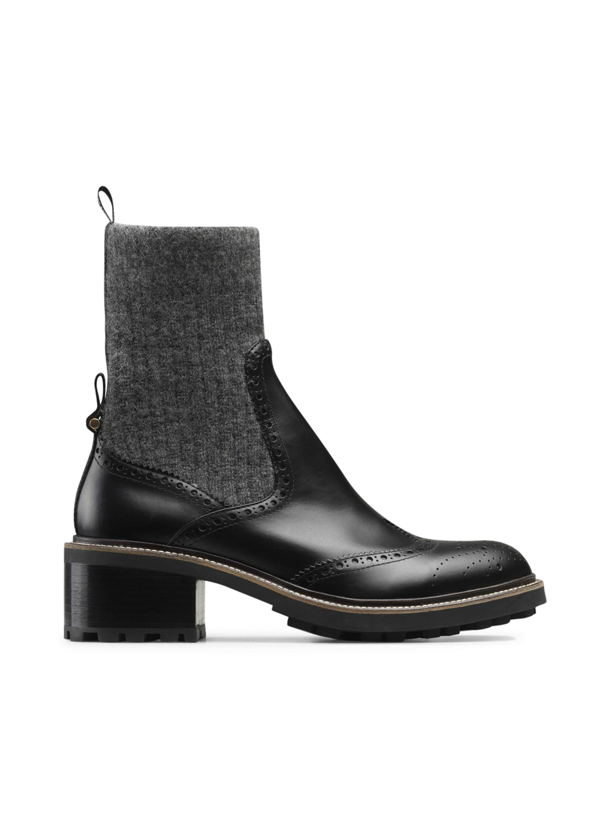 FRANNE SOCK ANKLE BOOT