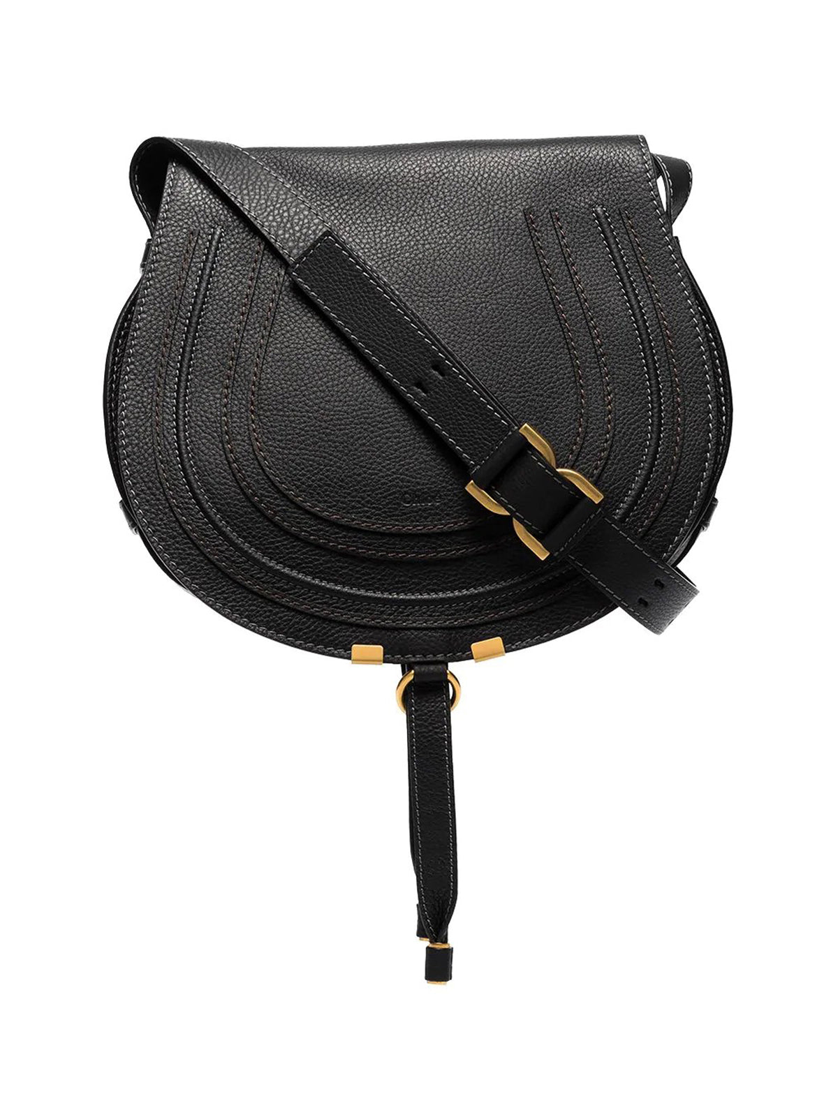 small Marcie leather shoulder bag