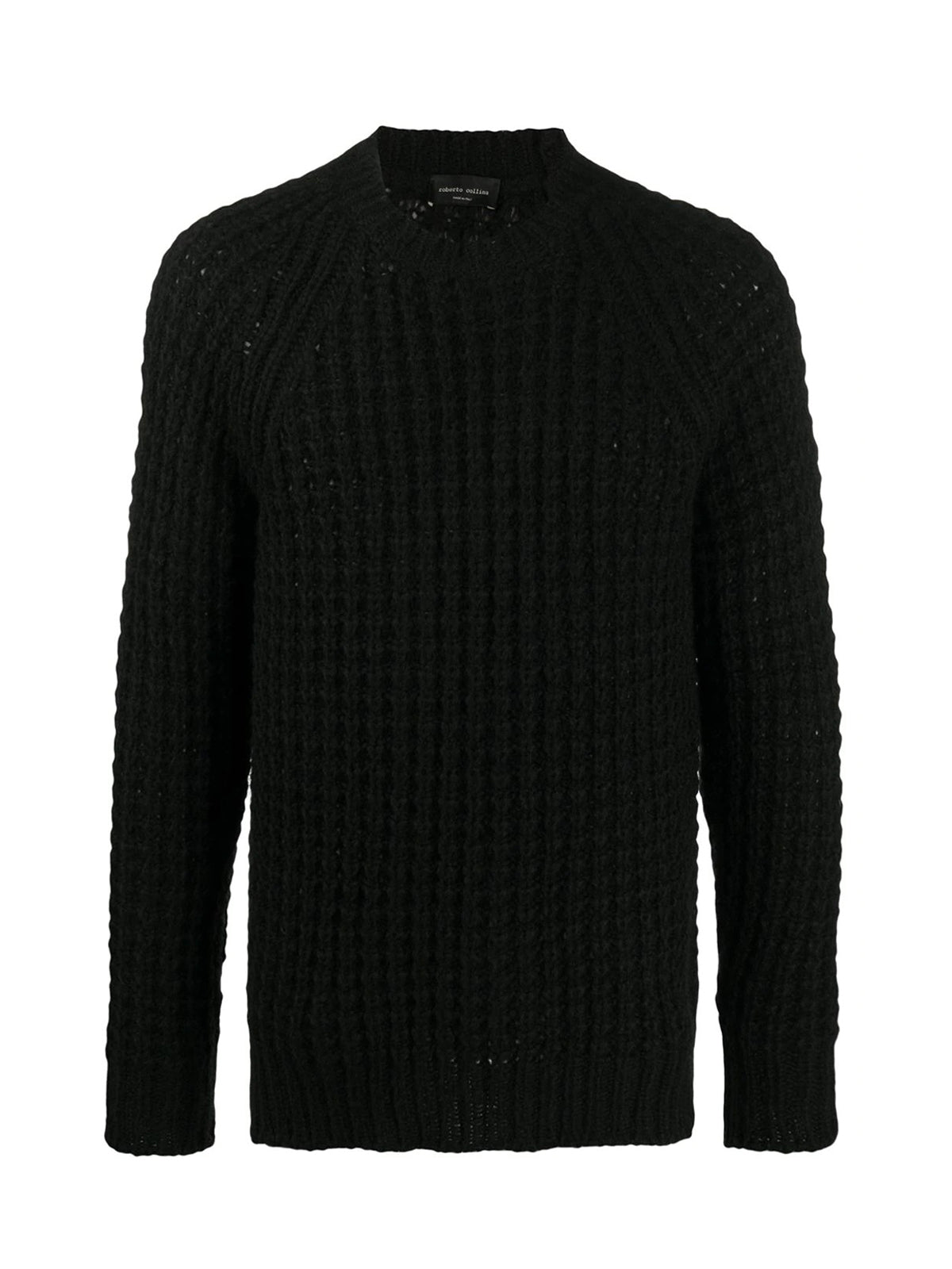 long-sleeve fitted jumper