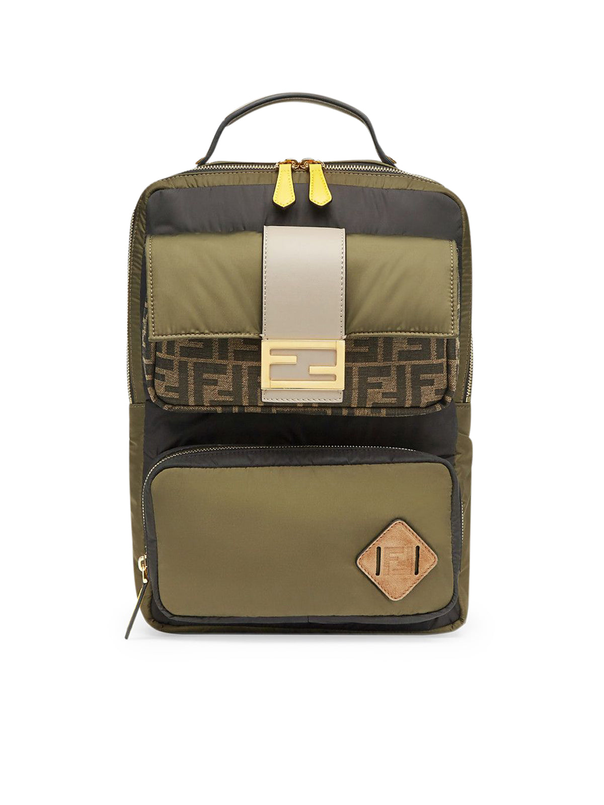 FF pattern backpack