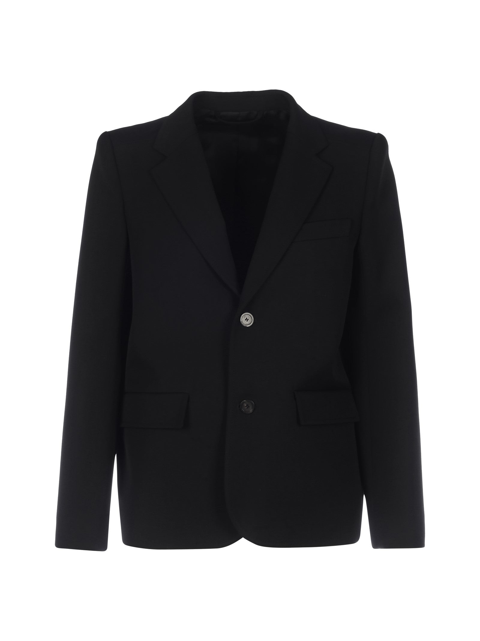 blazer with two buttons